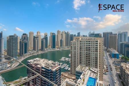 3 Bedroom Flat for Sale in Dubai Marina, Dubai - Marina View | Vacant Triplex Penthouse