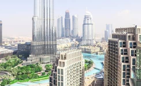 1 BR with Balcony Burj Khalifa View loft central