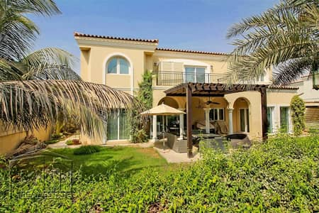 5 Bedroom Villa for Sale in Green Community, Dubai - Cul-de-sac location - Landscaped - Upgraded
