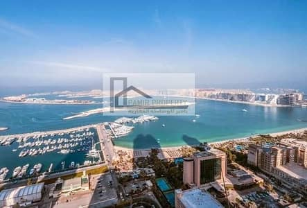 2 Bedroom Apartment for Rent in Dubai Marina, Dubai - Full sea view 2B/R for rent in elite residence Marina