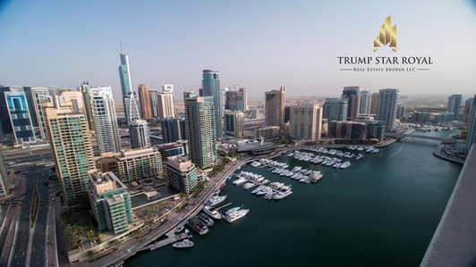 3 Bedroom Flat for Rent in Dubai Marina, Dubai - Full Marina View 3Br Apt in Al Sahab