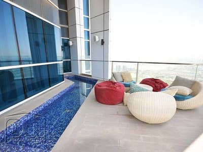 4 Bedroom Penthouse for Sale in Dubai Marina, Dubai - 4 BR | Upgraded | Penthouse | Amazing View