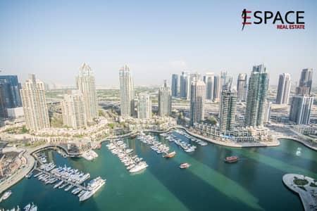 Full Marina View | Balcony | 3 Bed