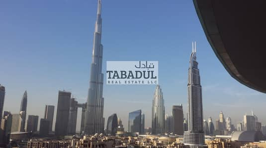 2 Bedroom Apartment for Rent in Downtown Dubai, Dubai - Brand New  2 Bedrooms   Fully Furnished   Burj Khalifa View  