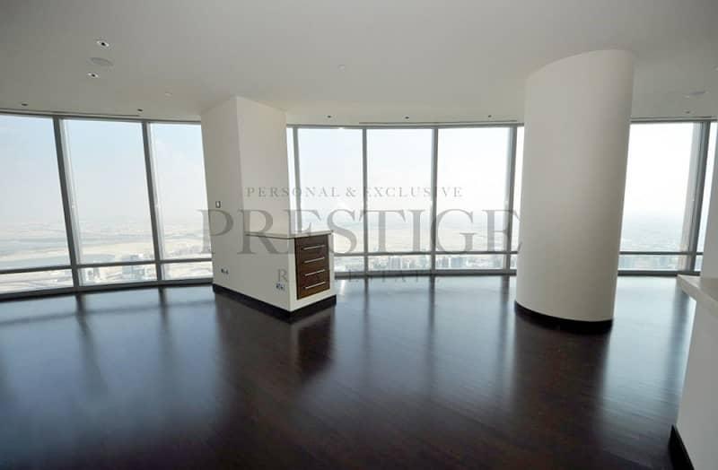 Spacious Three Bedroom Panoramic View High Floor