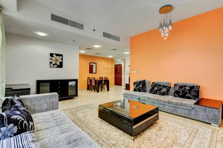 High floor Full Sea and Marina View Furnished Apartment