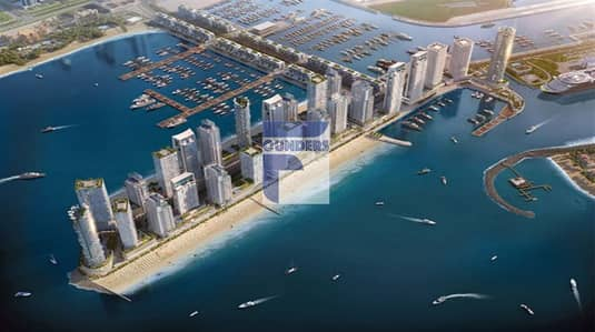 1 Bedroom Flat for Sale in Dubai Harbour, Dubai - Apartments for sale in EMAAR Beachfront with sea view