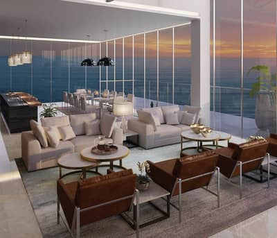 Modern and luxurious Apartment on JBR beach-with all units facing the sea-full panoramic gulf view