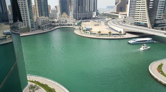 3 Bedroom Apartment for Rent in Dubai Marina, Dubai - Stunning Full Marina View in 150K
