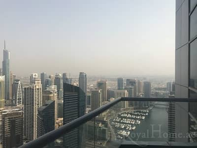 3 Bedroom Flat for Rent in Dubai Marina, Dubai - Unfurnished 3BR+M Apartment | CHILLER FREE