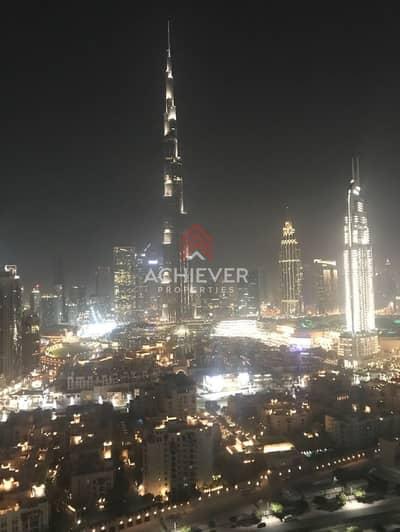 2 Bedroom Flat for Rent in Downtown Dubai, Dubai - Luxurious 2 B/R Serviced Apt   Burj View