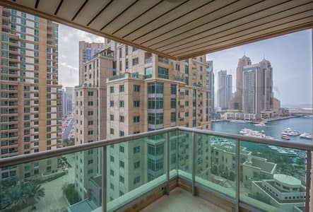 1 Bedroom Apartment for Rent in Dubai Marina, Dubai - Marina | 1 Bed | Study | Balcony | 2 Bath