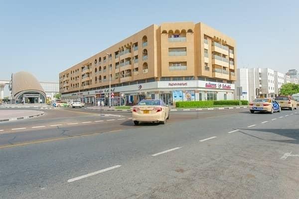 2 Bed with Window A/C | Near ADCB Metro Station | Al Karama