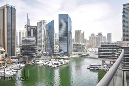 1 Bedroom Flat for Sale in Dubai Marina, Dubai - Biggest Layout | Full Marina | 856SQFT