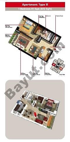 1 Bedroom Apartment Type B