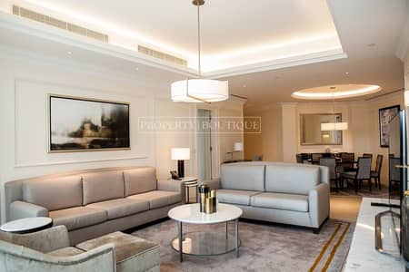 2 Bedroom Flat for Sale in Downtown Dubai, Dubai - 2 Bed | City View and Sea view | High Floor