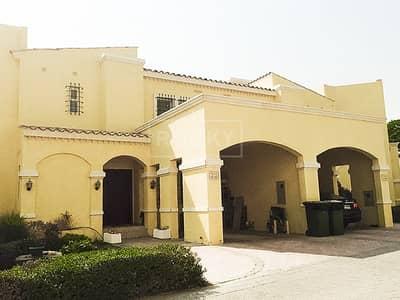 Villa with large landscape garden in Al Waha Villas