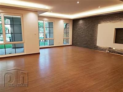 3 Bedroom Flat for Sale in Green Community, Dubai - A Completely Remodeled Ground Floor Home