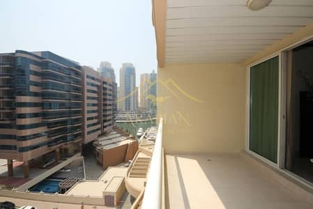 1 Bedroom Flat for Rent in Dubai Marina, Dubai - Cozy and Spacious Fully Furnished 1 Bed Apt W Marina View