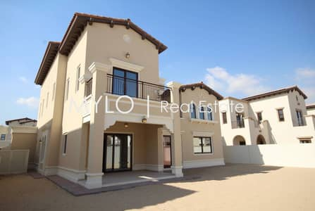 4 Bedroom Villa for Sale in Arabian Ranches 2, Dubai - Type 2 | 4 bed + Family Room | Dark Wood