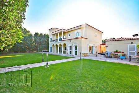 6 Bedroom Villa for Sale in Green Community, Dubai - Luxury Villa|Large Private Plot|Must View
