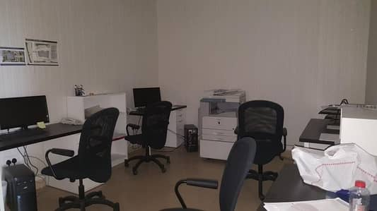 Office for Rent in Dubai Silicon Oasis, Dubai - Fitted office with partition for rent in Dubai Silicon Oasis