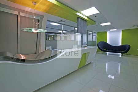 Office for Rent in Jumeirah Lake Towers (JLT), Dubai - Fully Fitted and Furnished I 6 Parkings