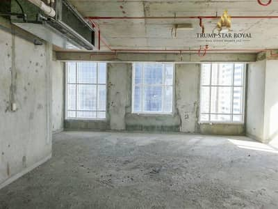 Office for Rent in Jumeirah Lake Towers (JLT), Dubai - Sea View Shell and Core Office in Dome Tower JLT