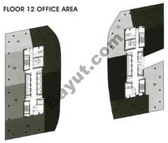 Office Area Floor 12th