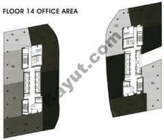 Office Area Floor 14th