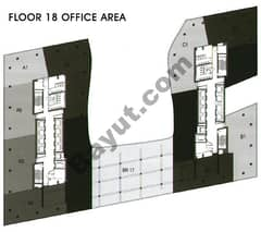 Office Area Floor 18th