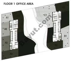 Office Area Floor 1st