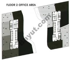 Office Area Floor 2nd