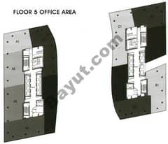 Office Area Floor 5th