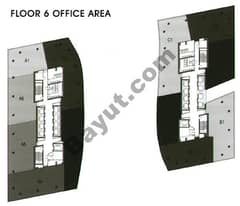 Office Area Floor 6th