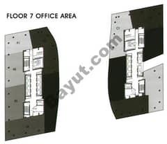 Office Area Floor 7th