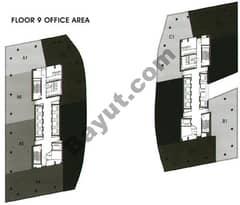 Office Area Floor 9th