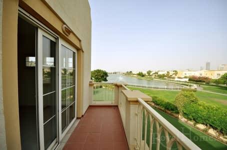 فیلا  للايجار في الينابيع، دبي - Full Lake View I 3 Bedroom + Study Room