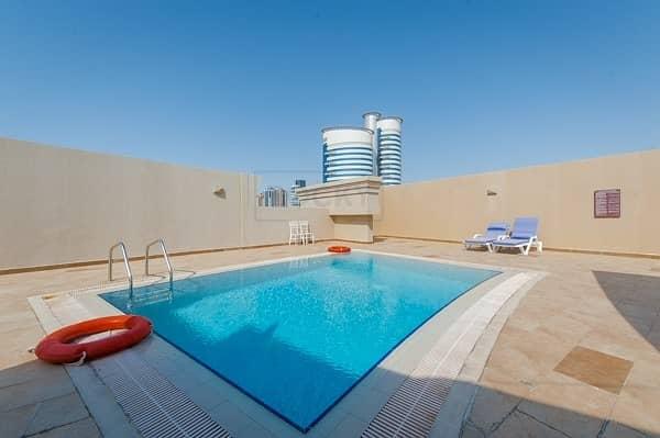 26 1 Bed | Pool & Gym | Bur Dubai