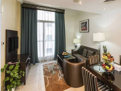 1 Bedroom Apartment for Rent in Al Barsha, Dubai - Exclusive Offer Fully Furnished 1BHK only AED 58k and AC free, No commission