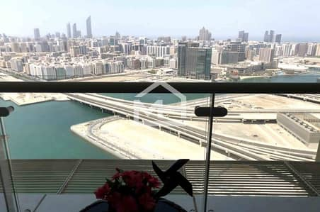 3 Bedroom Flat for Rent in Al Reem Island, Abu Dhabi - Vacant 3 BR+Maid's Sea+City View in Tala