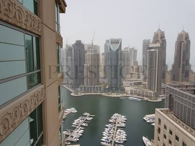 2 Bedroom Flat for Rent in Dubai Marina, Dubai - 2 Bedroom | Marina View | High Floor