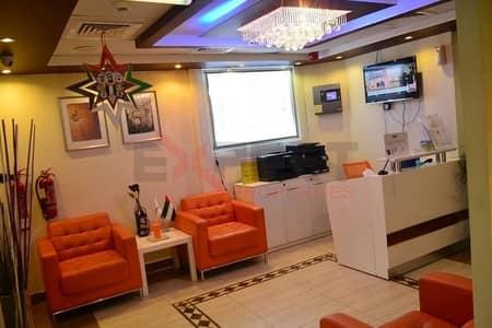 Office for Rent in Al Garhoud, Dubai - 30k Fully Serviced Office with ijari in Al Garhoud