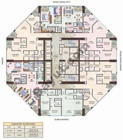 Floorplan 8th to 31st