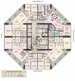 Floorplan 35th to 58th