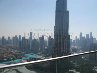 3 Bedroom Flat for Rent in Downtown Dubai, Dubai - 3 Bedrooms Hotel | Burj Khalifa View