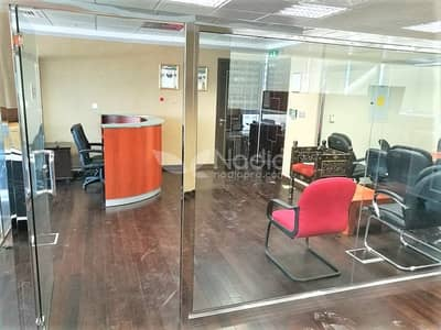Furnished Fitted Office | With Balcony| Indigo Icon| JLT