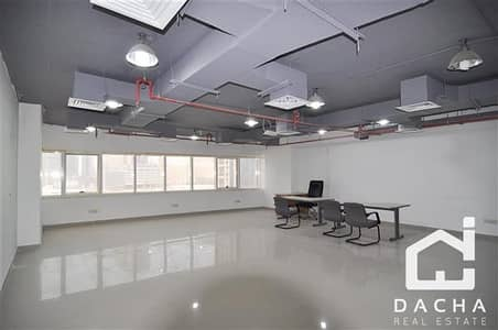 Partially fitted office in HDS Tower