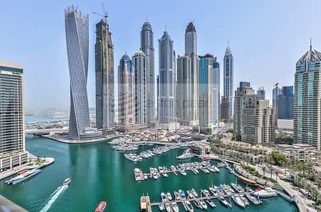 3 BR+M+S | With Large Terrace | Full Marina View