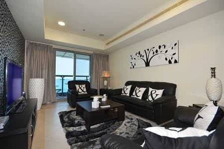 2 Bedroom Apartment for Rent in Dubai Marina, Dubai - Direct Full Sea View and The Palm View Fully Furnished Home